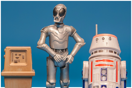 Special Action Figure Droid Set