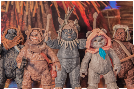 Ewok Pack Movie Heroes by Hasbro