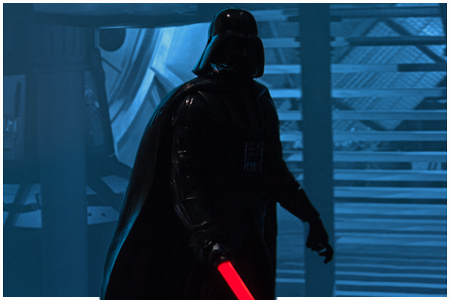 Darth Vader - Light-Up Lightsaber
