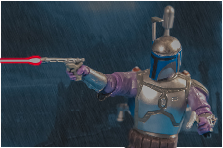 Jango Fett - Missile-Firing Backpack