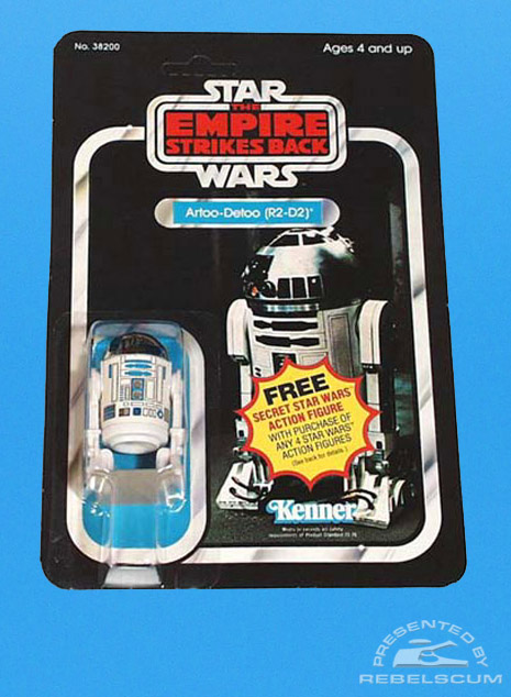 The Empire Strikes Back Secret Action Figure Offer 21 Back
