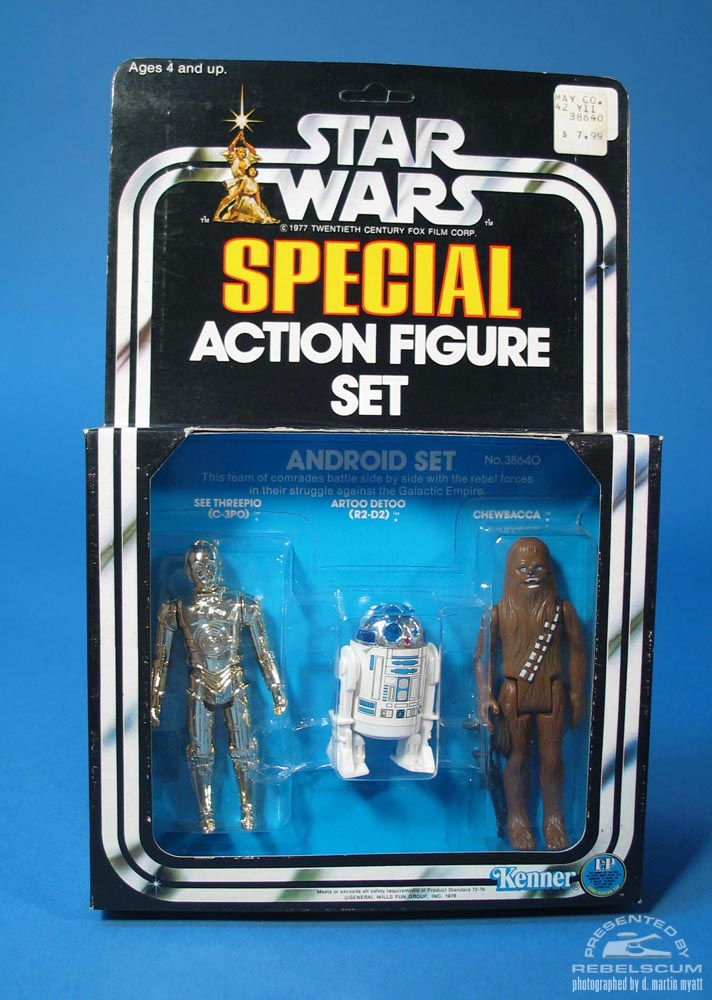 Star Wars Android Set Three Pack