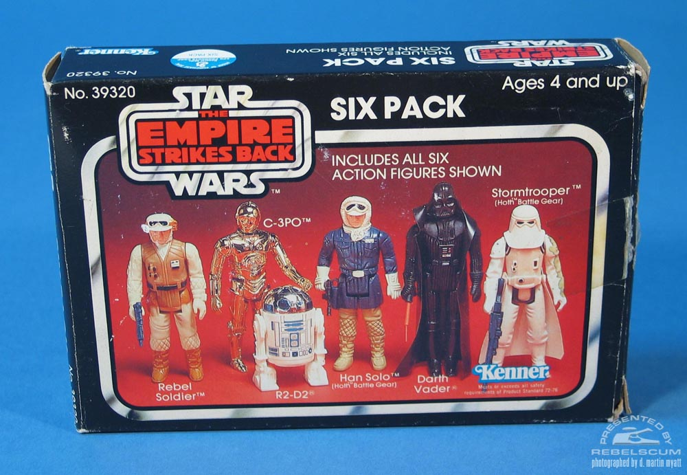 The Empire Strikes Back Six Pack