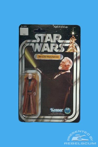 Kenner 12 Back Star Wars Carded Figure