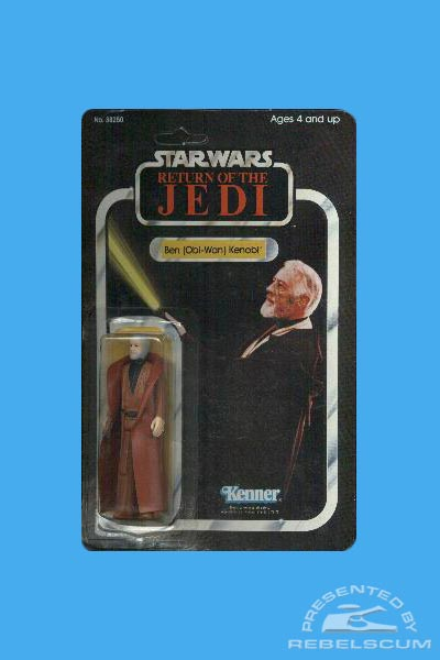Kenner 65 Back Return Of The Jedi Carded Figure with Original Image