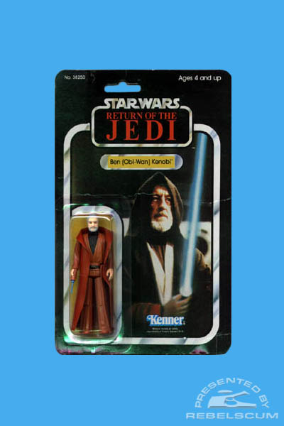 Kenner 65 Back Return Of The Jedi Carded Figure with Replacement Image