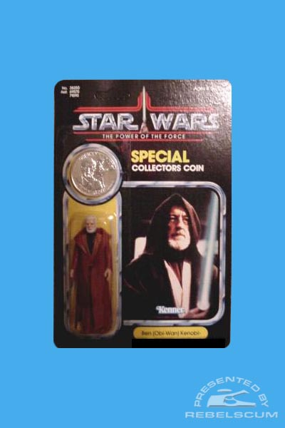 The Power Of The Force 92 Back Carded Figure