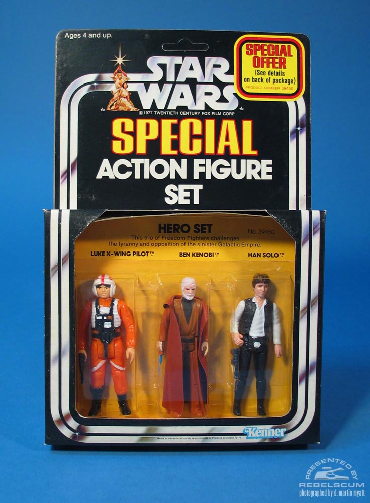Star Wars  Series 2 Hero Set Three Pack