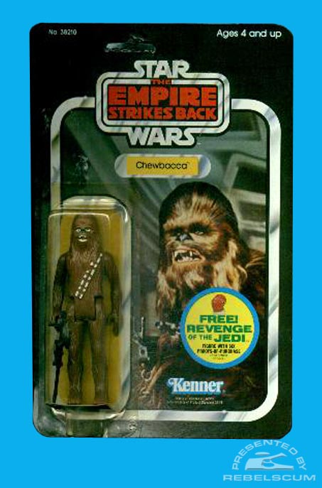 The Empire Strikes Back 48 Back -Revenge Of The Jedi Admiral Ackbar Offer