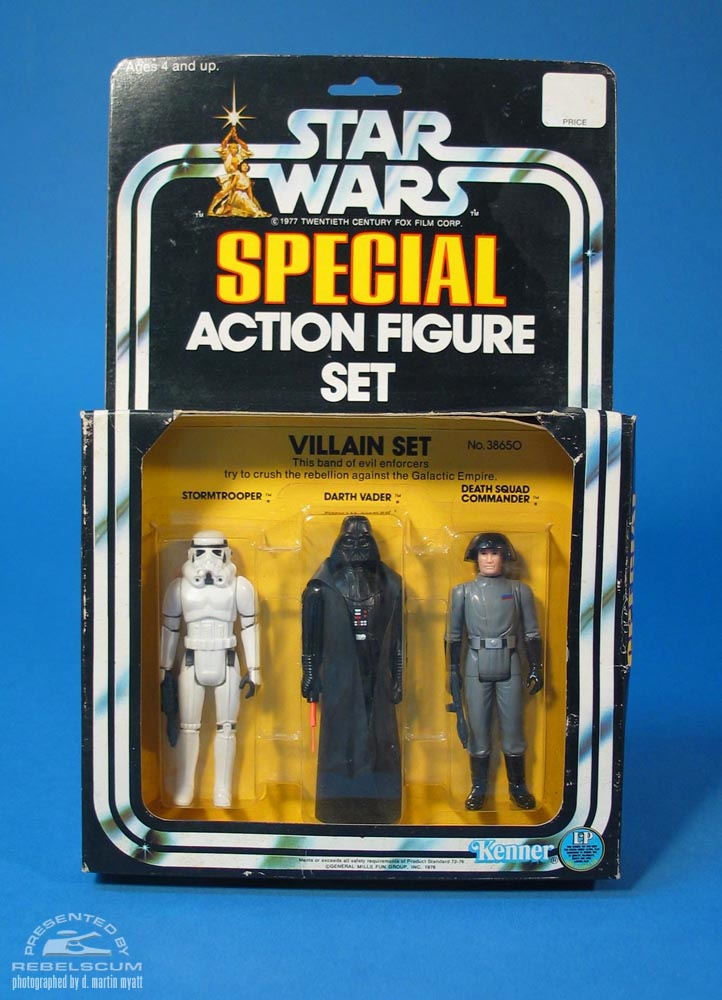 Star Wars Villain Set Three Pack