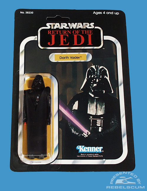 65 Back Return Of The Jedi Carded Figure with original image