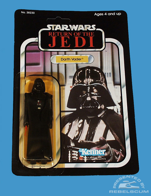 65 Back New Image Return Of The Jedi Carded Figure