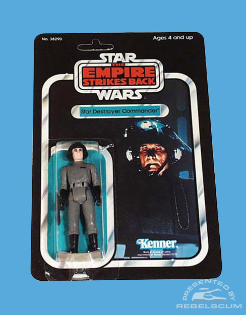 The Empire Strikes Back  31 Back Card –The first renamed figure package
