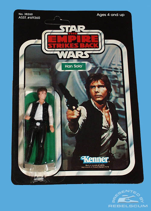 The Empire Strikes Back 32 Back Card –The first renamed figure package