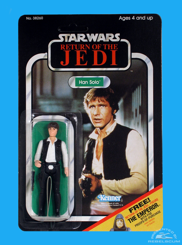 Kenner 65 Back C Return Of The Jedi Carded Figure with New Image