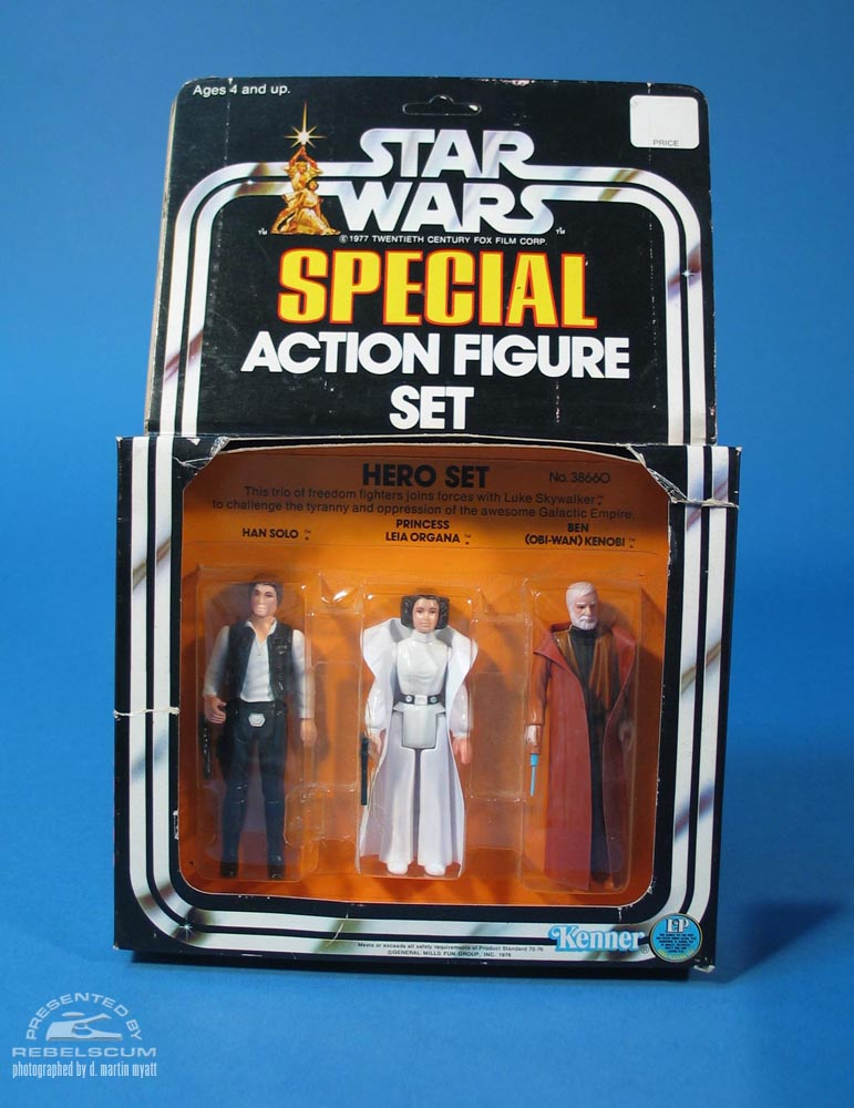 Star Wars Series 1 Hero Set Three Pack