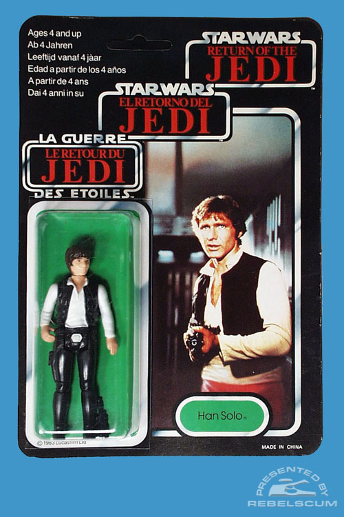 Tri-Logo Return Of The Jedi Carded Figure