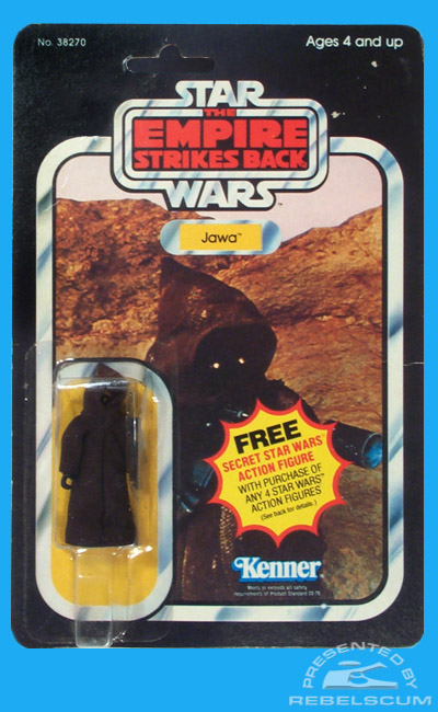 Kenner The Empire Strikes Back 21 Back Carded Figure