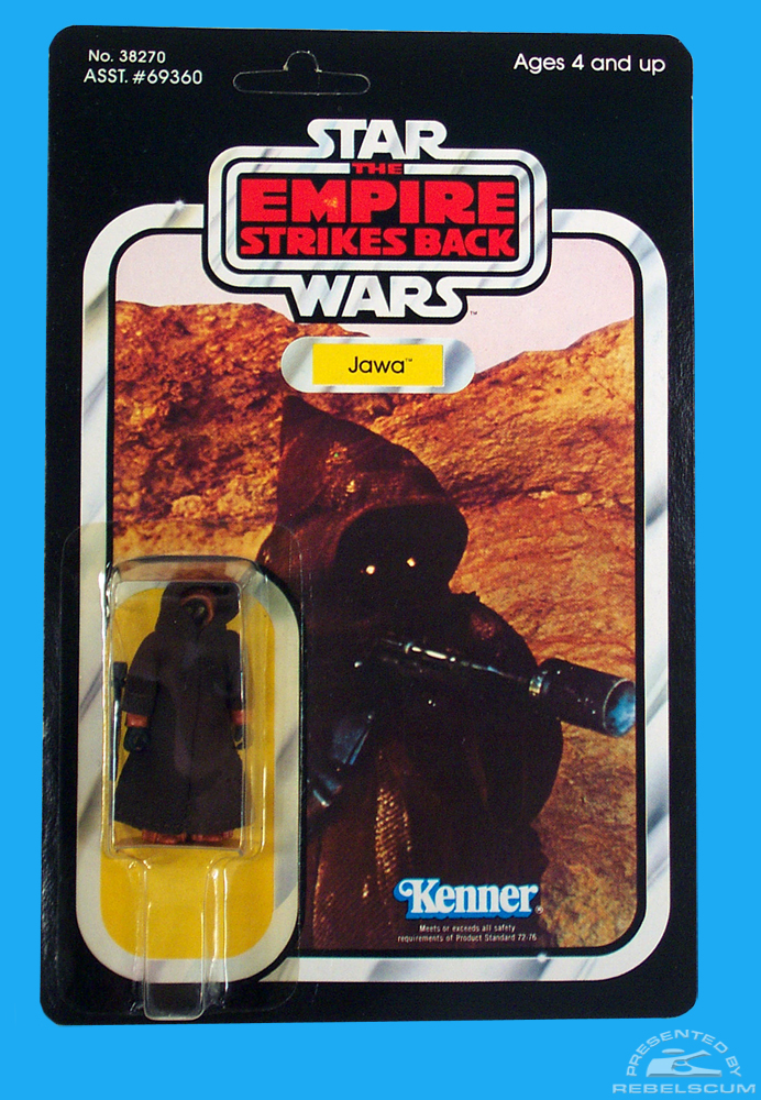The Empire Strikes Back 31 Back Carded Figure