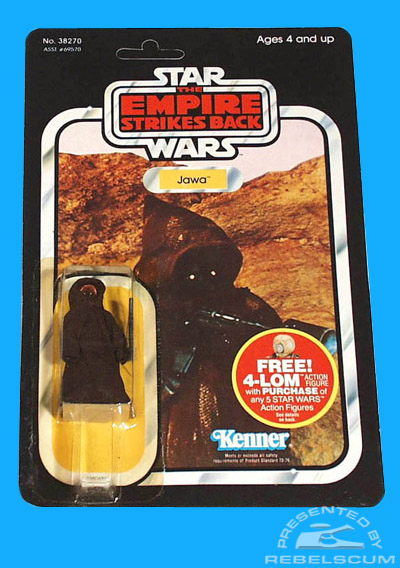 The Empire Strikes Back 47 Back Carded Figure