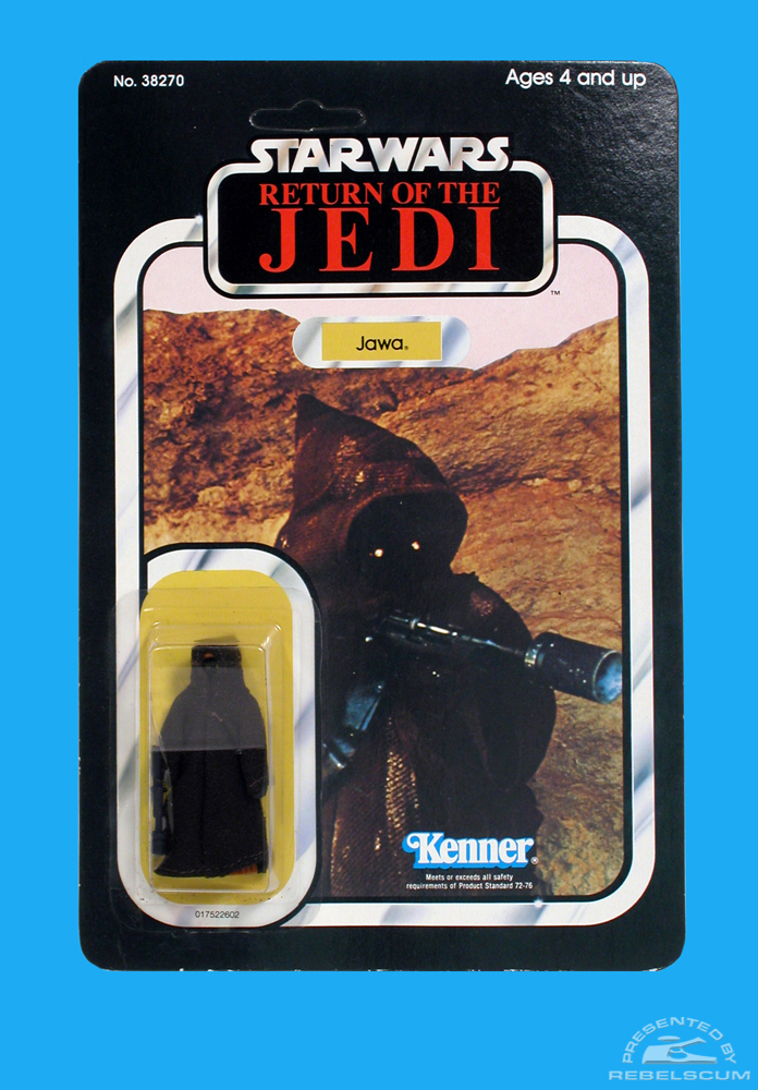 Kenner 65 Back C Return Of The Jedi Carded Figure