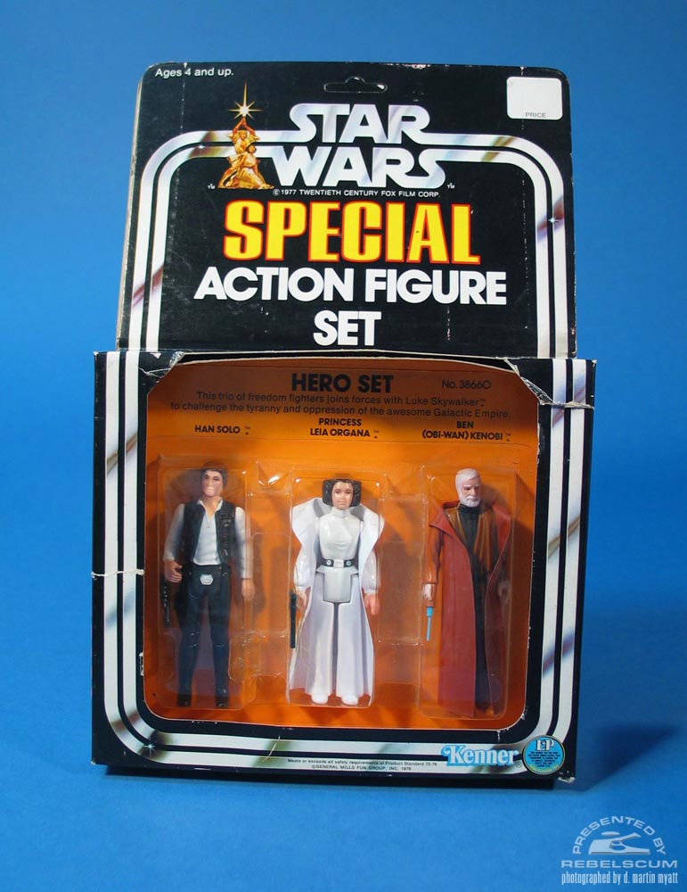 Star Wars Hero Set Three Pack