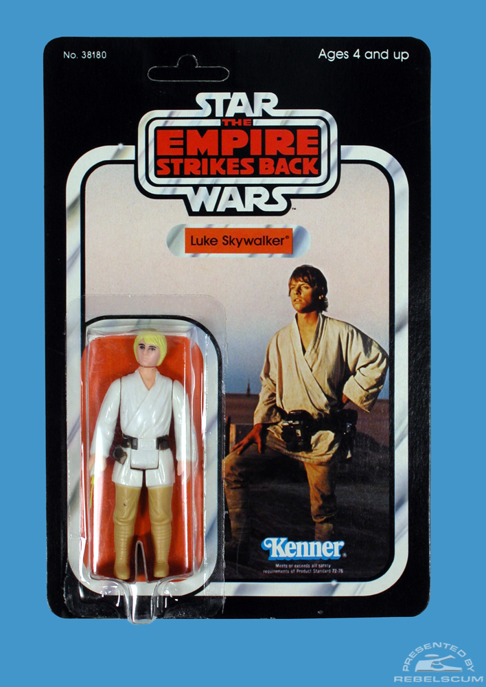 32 Back  The Empire Strikes Back Carded Figure