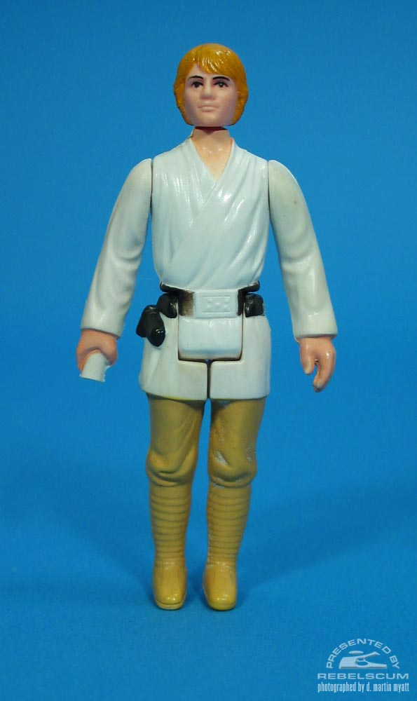 Luke Skywalker with Orange Hair