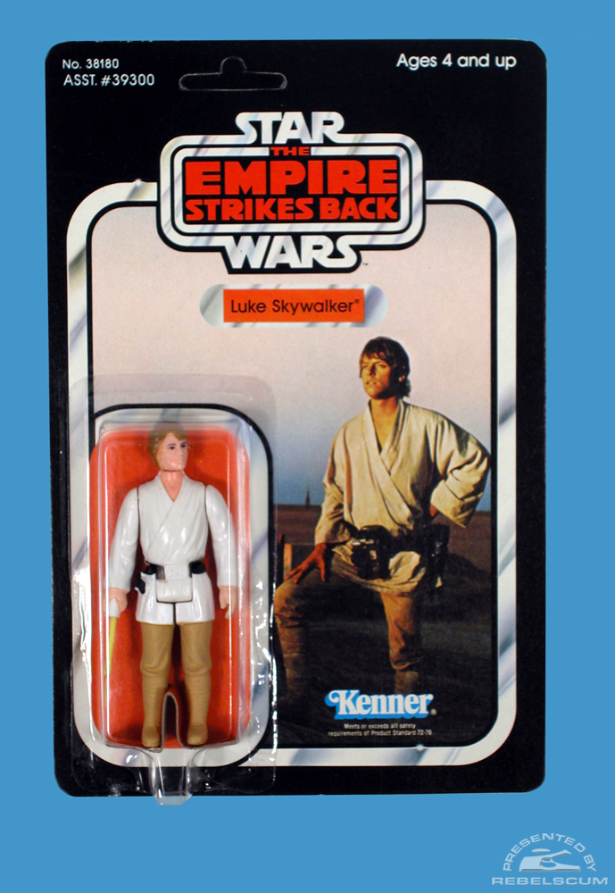 41 Back  The Empire Strikes Back Carded Figure