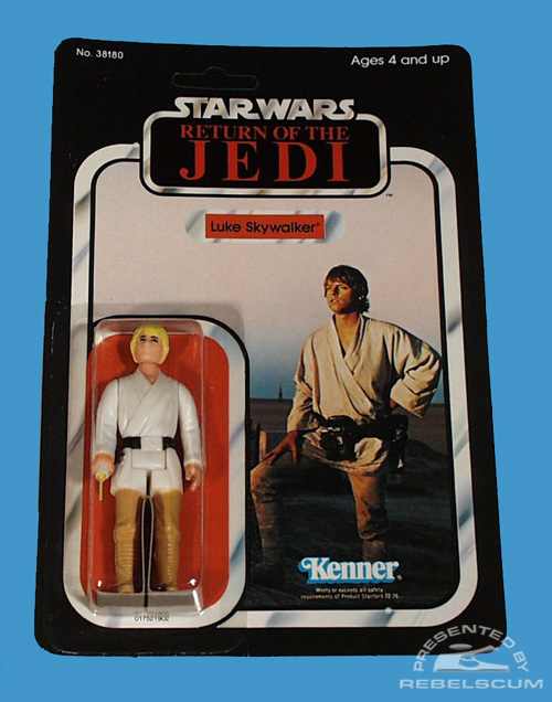 65 Back Return Of The Jedi Carded Figure