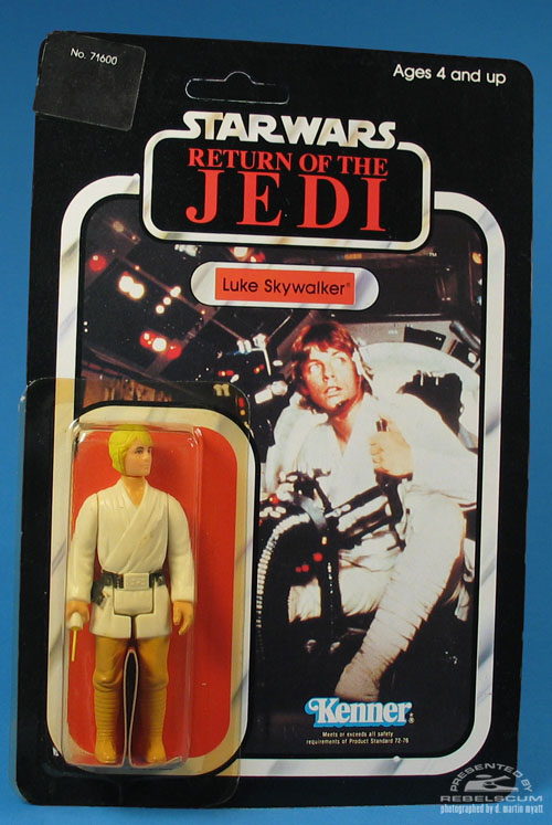 77 Back New Image Return Of The Jedi Carded Figure