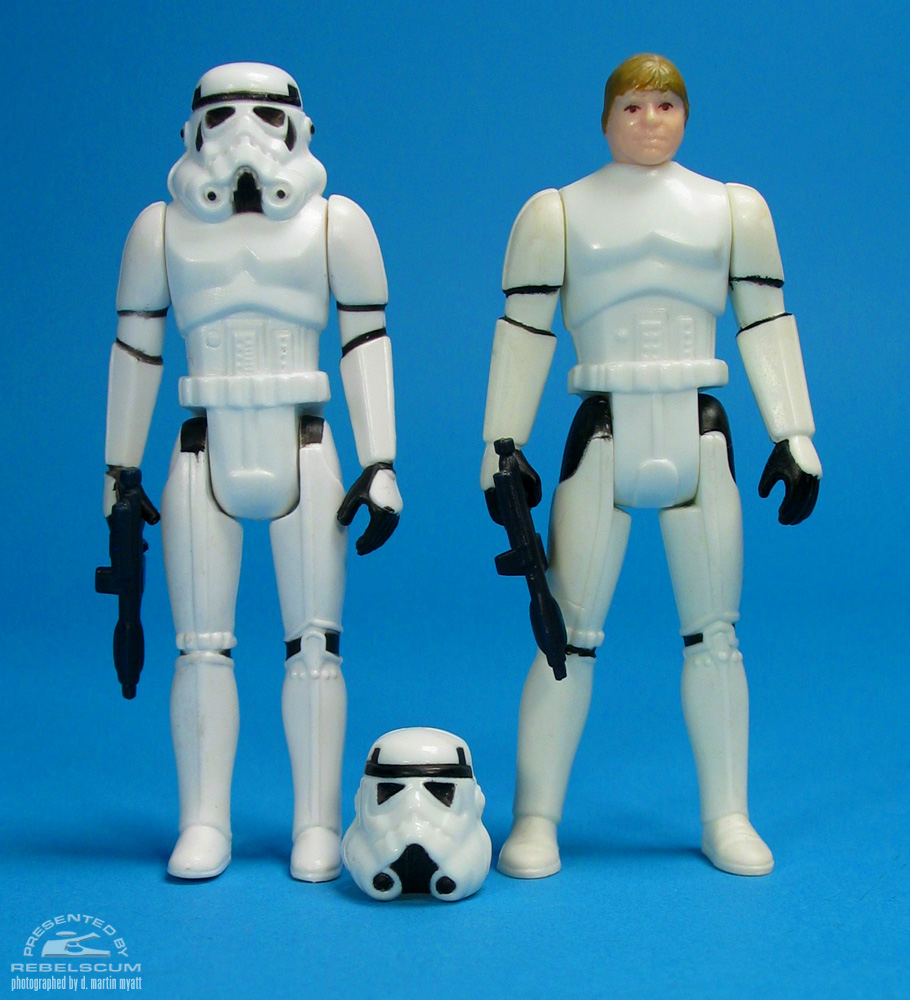 Left To Right: Imperial Stormtrooper