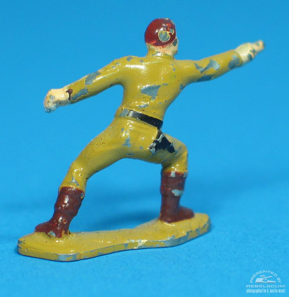 Painted prototype Luke Skywalker (Fighting) figure