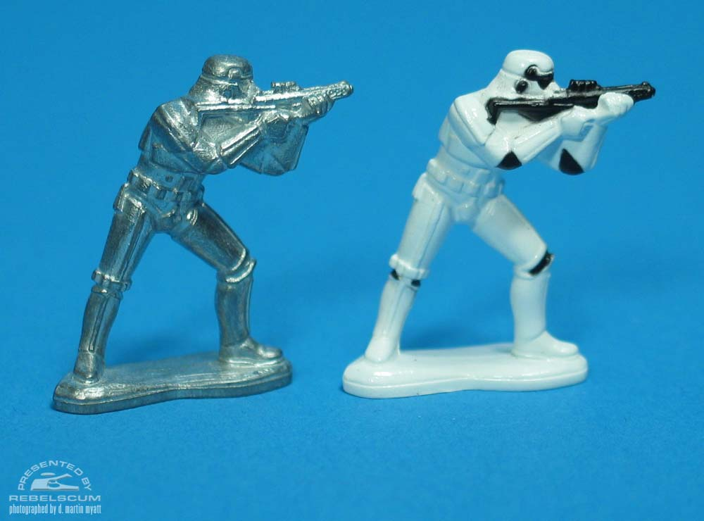 Unpainted Stormtrooper (Attacking)