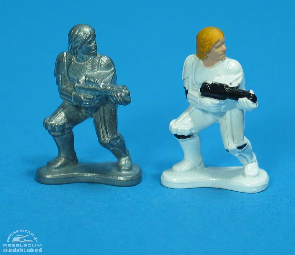 Unpainted Luke Skywalker (In Stormtrooper Outfit)