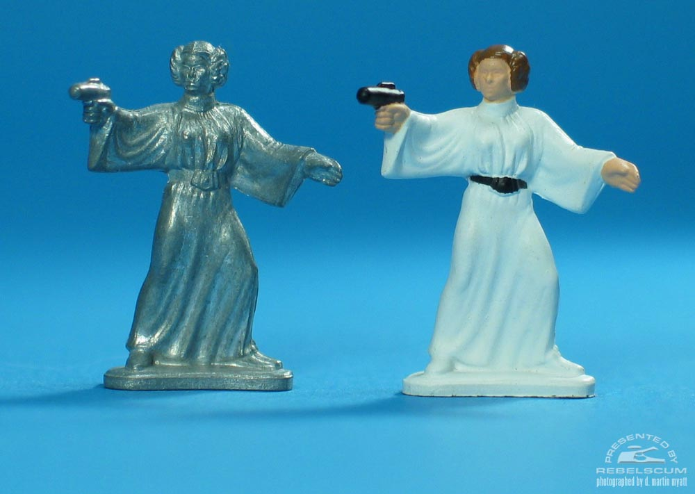 Unpainted Princess Leia Organa (Firing Weapon)