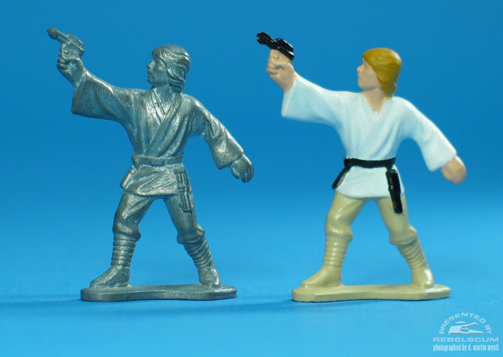 Unpainted Luke Skywalker (Firing Weapon)