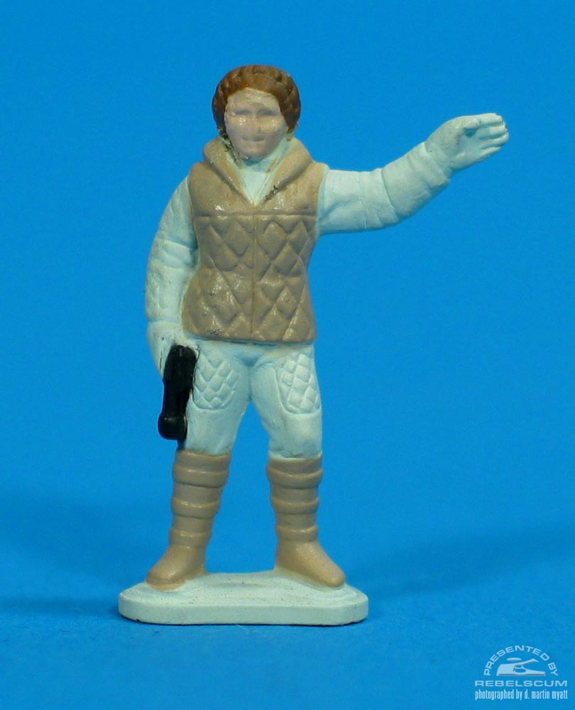 Princess Leia Organa (With Gun And Commanding)
