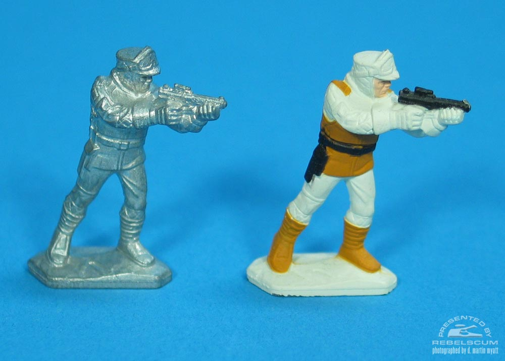 Unpainted Rebel Soldier -3