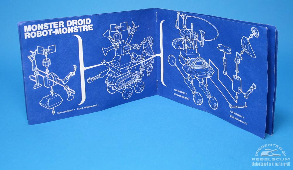 Kenner Canada Droid Maker Blueprints
