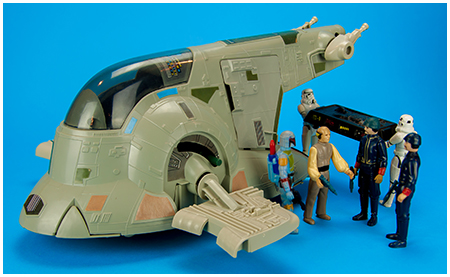 Slave I - Boba Fett's Spaceship From Kenner