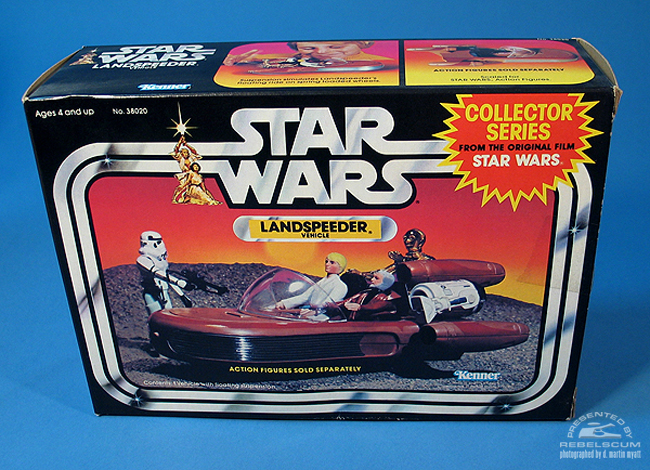 Kenner's 1984 Collector Series Rerelease Landspeeder