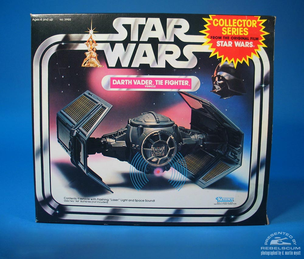 1984 Darth Vader TIE Fight Vehicle Collector Series