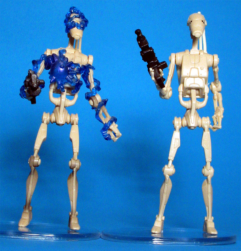 POTJ Battle Droid (Boomer Damage) | OTC Battle Droid
