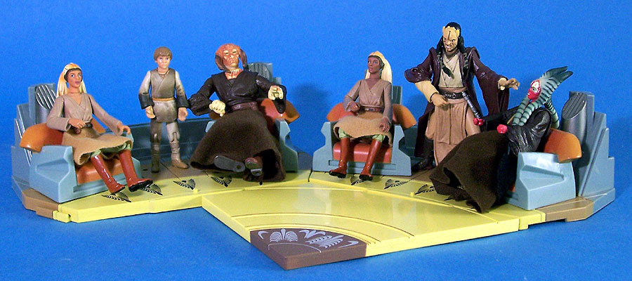 2004 Jedi High Council Scenes 3 and 4