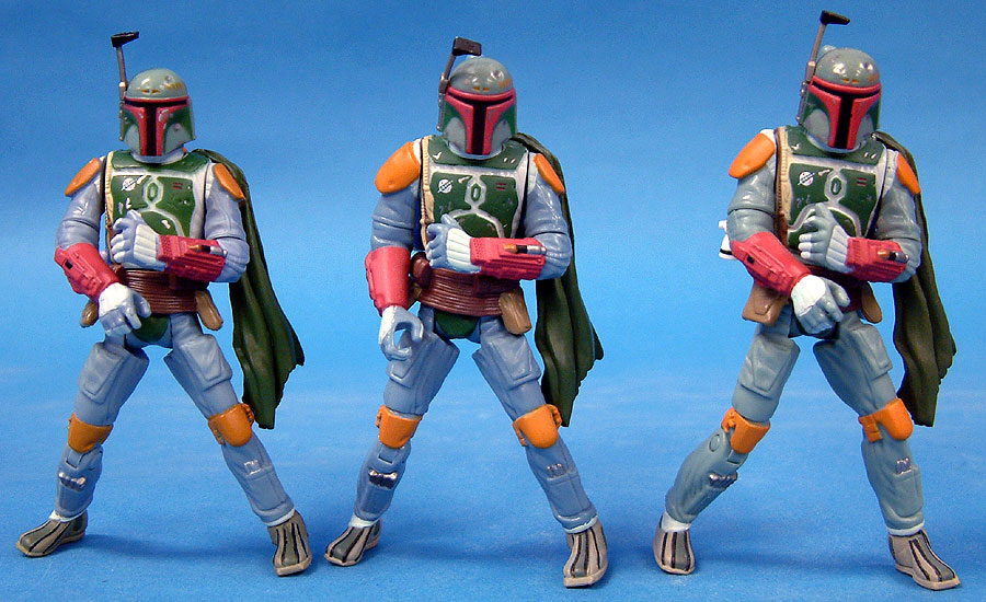 OTC Boba Fett | Saga Boba Fett (Blue Suit - First Release) | Saga Boba Fett (Green Suit - Second Release)