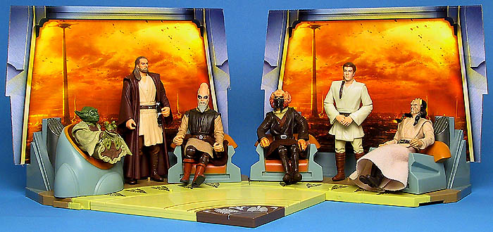 2004 Jedi High Council Sets 1 and 2