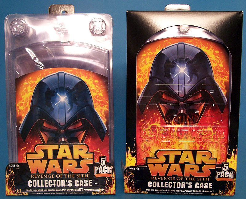 Old Collector's Case (figure not included) | New Collector's Case (figure not included)