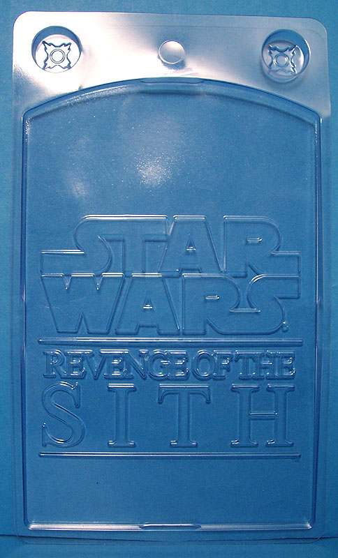 Revenge of the Sith logo embossed on back
