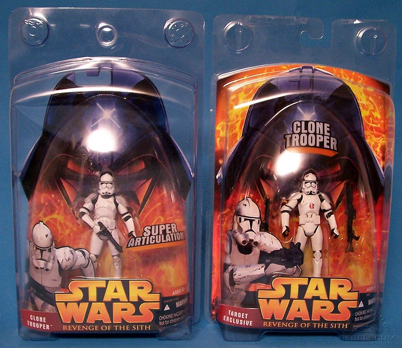 Collector's Case (figure not included) | Clone Trooper (Neyo logo) Case